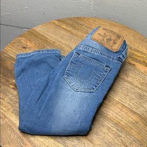 True religion kids straight leg jeans